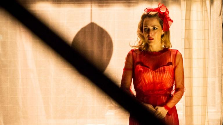 A Streetcar Named Desire production photo of Gillian Anderson