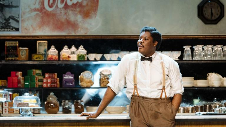 Hammed Animashaun in Master Harold and the boys