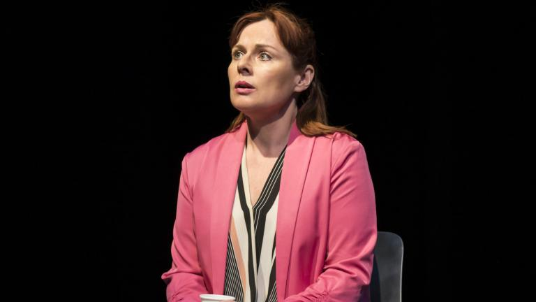 Heather Craney in Consent at the Harold Pinter Theatre