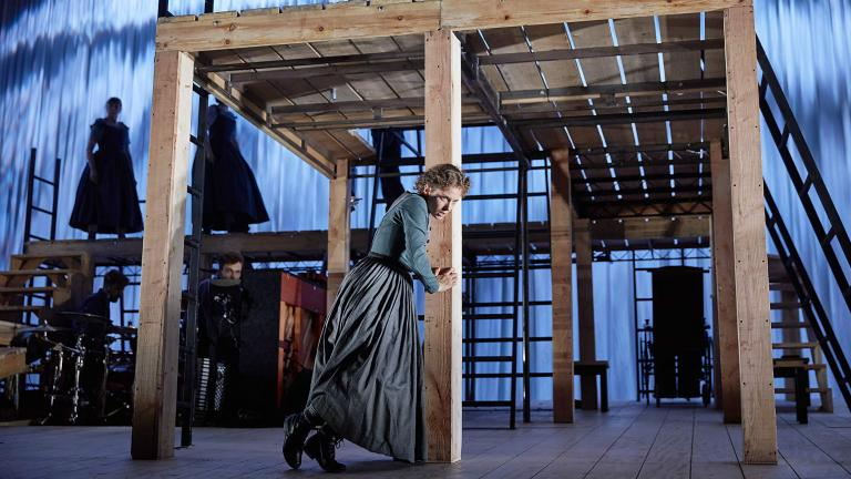 Jane Eyre 2017 Production photo with Nadia Clifford