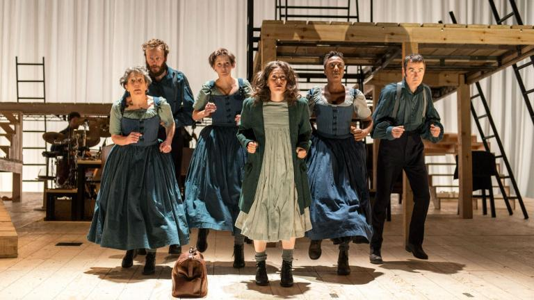 Jane Eyre production photo with the company