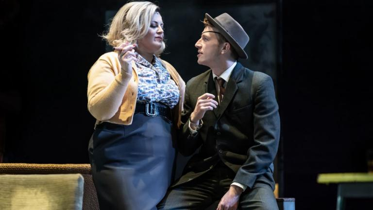 A Taste of Honey tour and WE production image with Jodie Prenger and Tom Varey