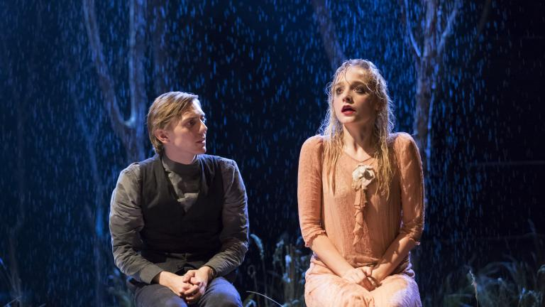 Joshua James, Olivia Vinall in The Seagull