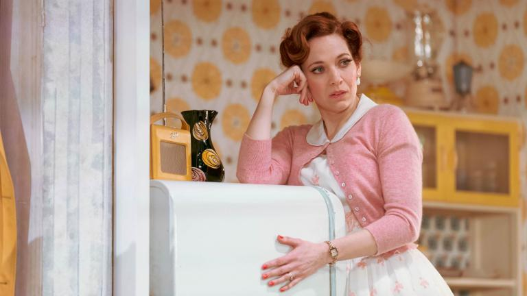 Katherine Parkinson in Home, I'm Darling in the West End