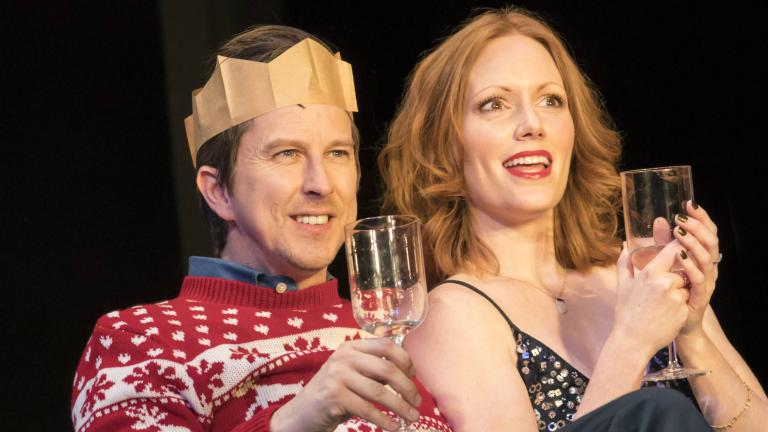 Lee Ingleby and Clare Foster in Consent at the Harold Pinter Theatre