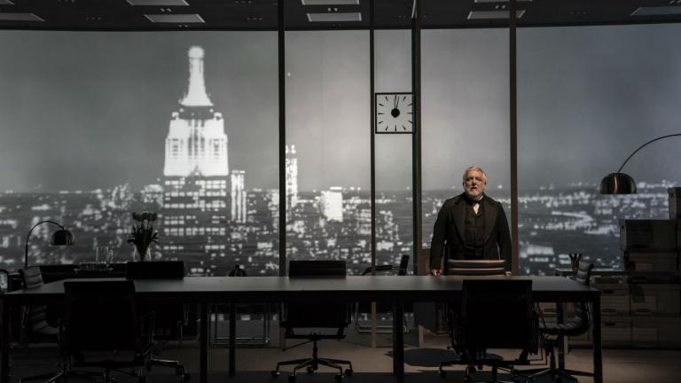 The Lehman Trilogy New York Production with Simon Russell Beale