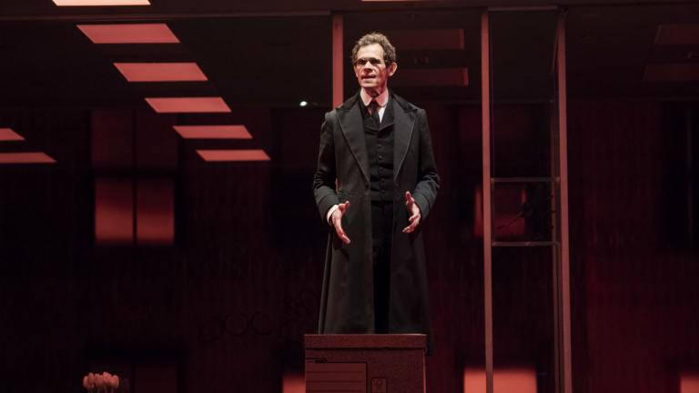 The Lehman Trilogy New York Production with Adam Godley