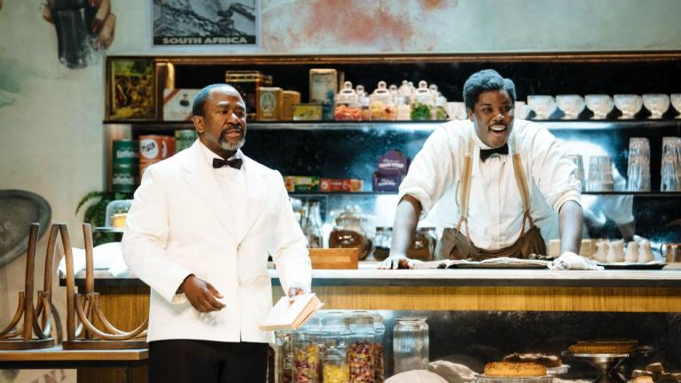 Lucian Msamati and Hammed Animashaun in Master Harold and the boys