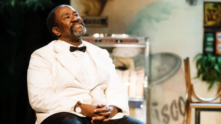 Lucian Msamati in Master Harold and the boys