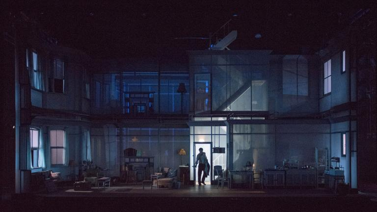 The Deep Blue Sea: the set designed by Tom Scutt