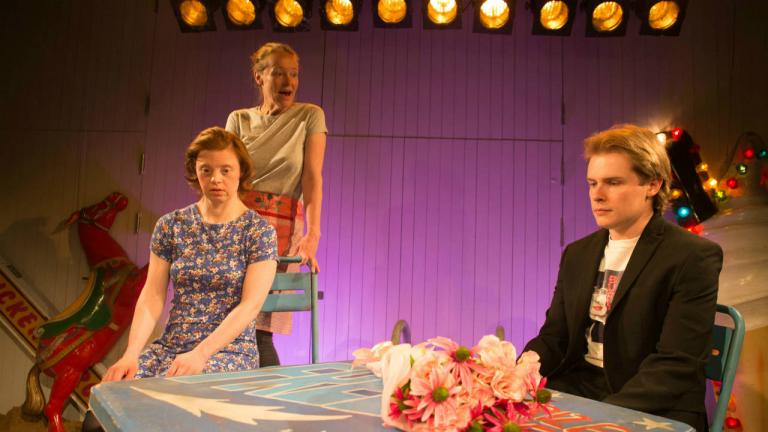 Penny Layden Sarah Gordy and Nicky Priest in Jellyfish