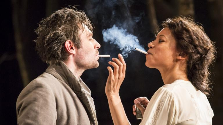 Platonov Production James McArdle and Nina Sosanya