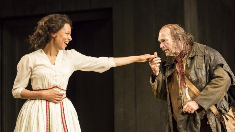 Platonov Production Picture Nina Sosanya and Des McAleer