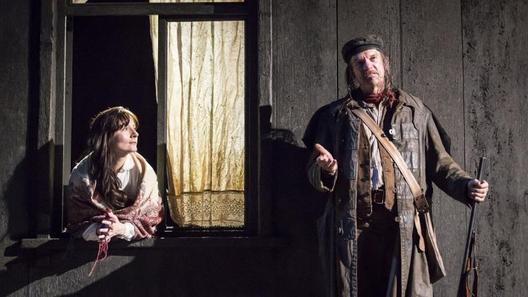Platonov Production Picture Jade Williams and Des McAleer