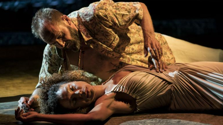 Antony and Cleopatra production image