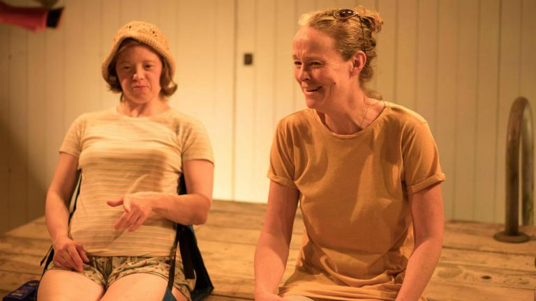 Sarah Gordy and Penny Layden in Jellyfish