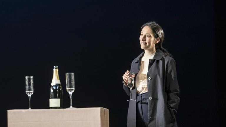 Sian Clifford in Consent at the Harold Pinter Theatre
