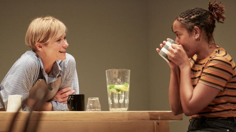 Sian Brooke and Amaka Okafor in Im Not Running by David Hare