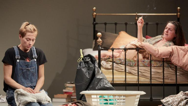 Sian Brooke and Liza Sadovy in Im Not Running by David Hare