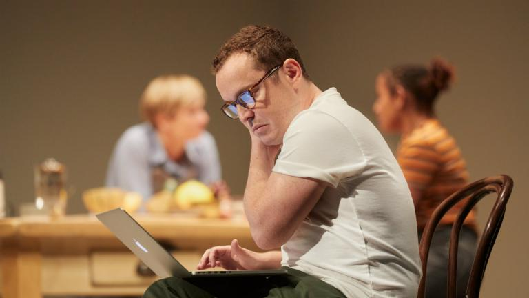 Joshua McGuire in Im Not Running by David Hare