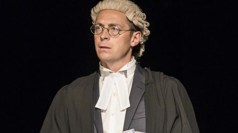Stephen Campbell Moore in Consent at the Harold Pinter Theatre