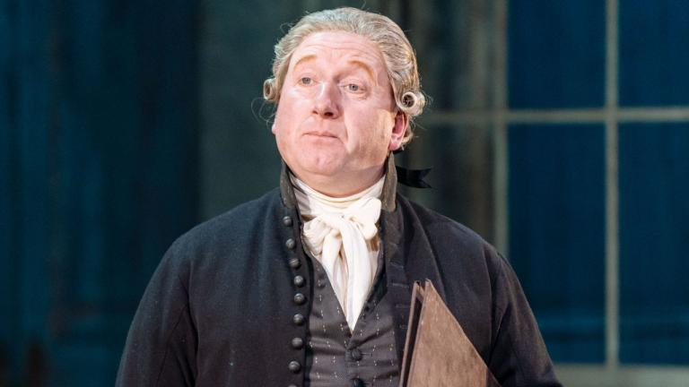 The Madness of George III - photo of Adrian Scarborough