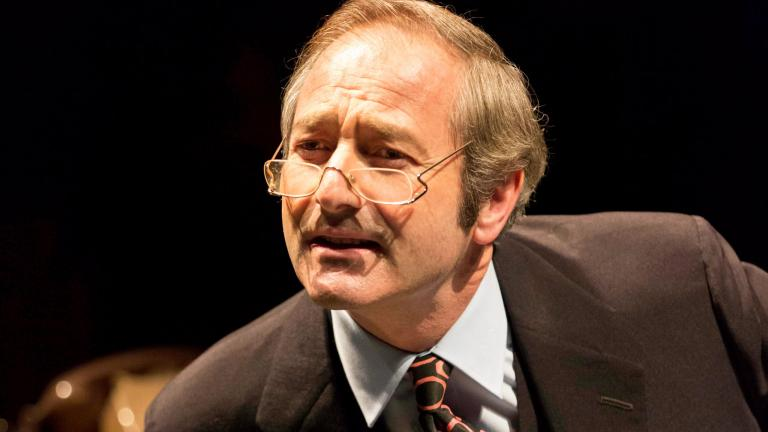 This House 2012 production photo of Julian Wadham as Humphrey Atkins
