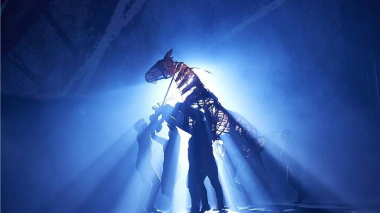 An image of War Horse & Help us save stage lighting | National Theatre