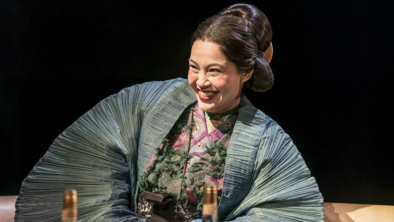 Wendy Kweh as Lady Nijo in Top Girls by Caryl Churchill