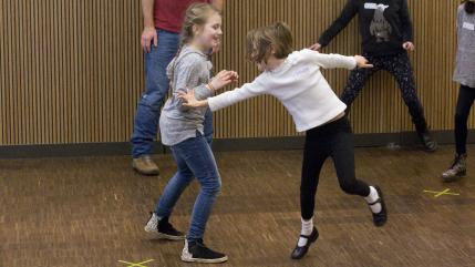 Improvisation and Theatre Games Family Workshop
