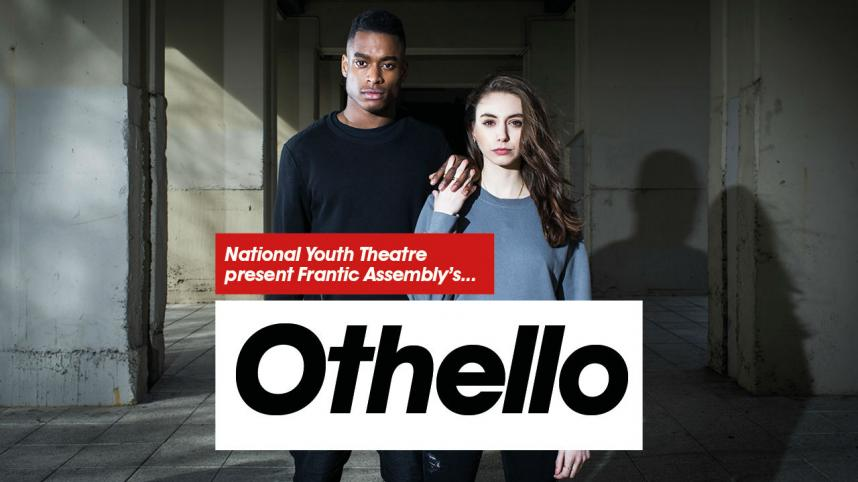 National Youth Theatre: Othello - photo of Othello and Desdemona