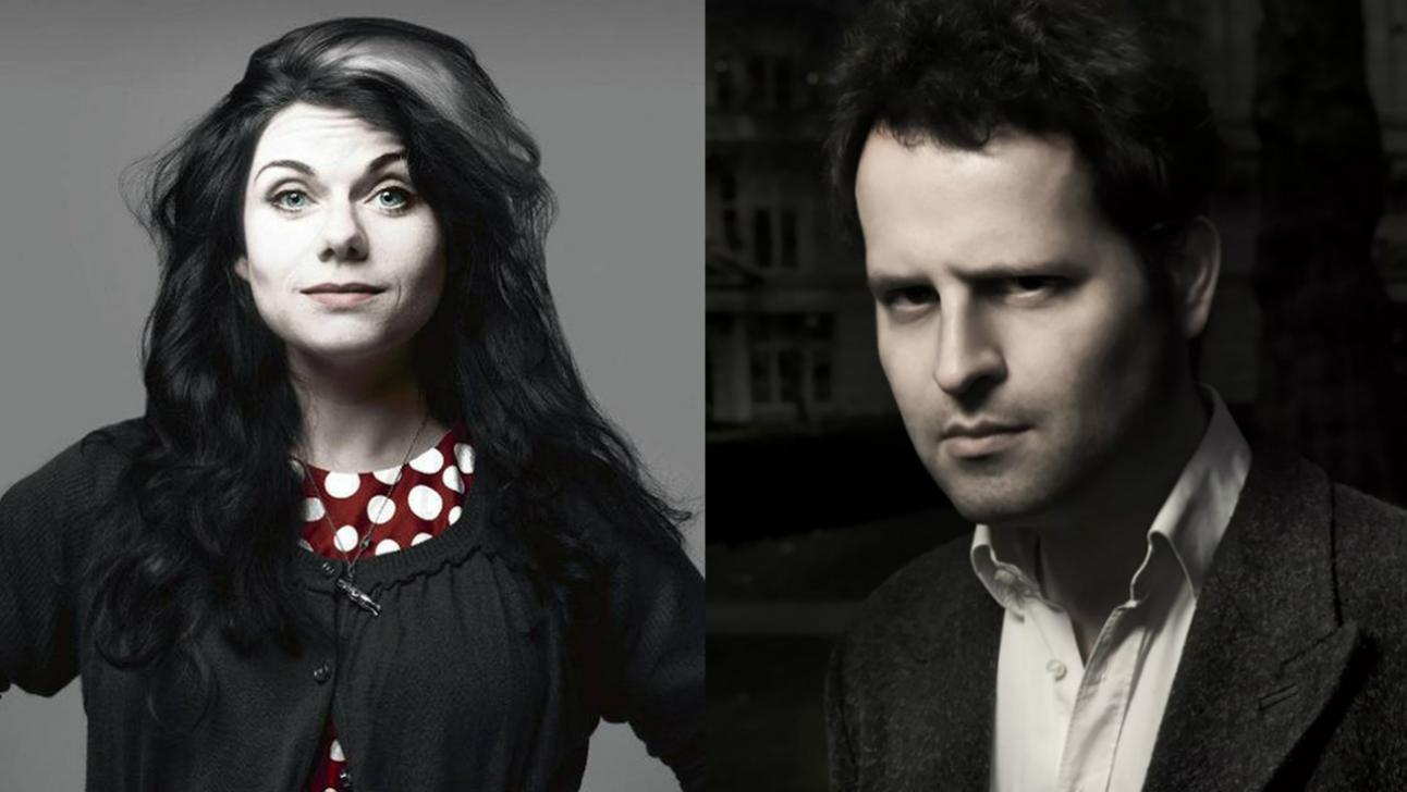 Authors on Stage Caitlin Moran and Adam Kay