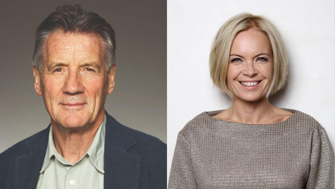 Michael Palin and Mariella Frostrup