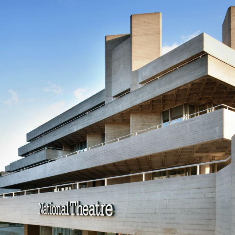 National Theatre building viewed from the West