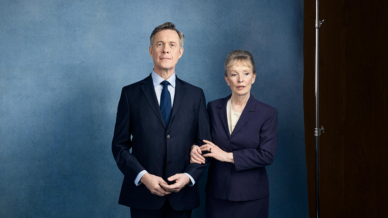 Hansard poster with Alex Jennings and Lindsay Duncan