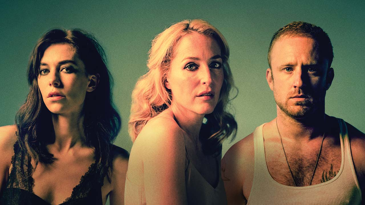 NT at Home A Streetcar Named Desire - photo of Vanessa Kirby, Gillian Anderson and Ben Foster